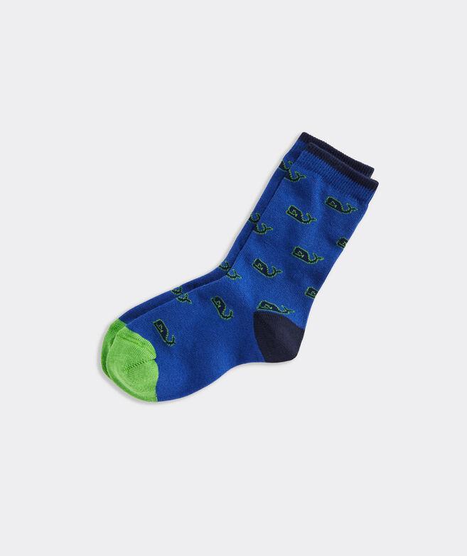 Boys' Whale Icon Socks