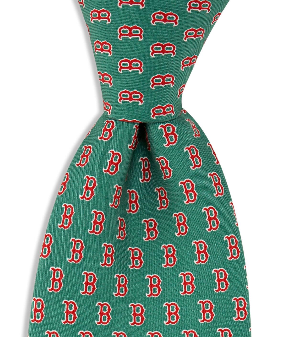 Boston Red Sox Tie Zoom In