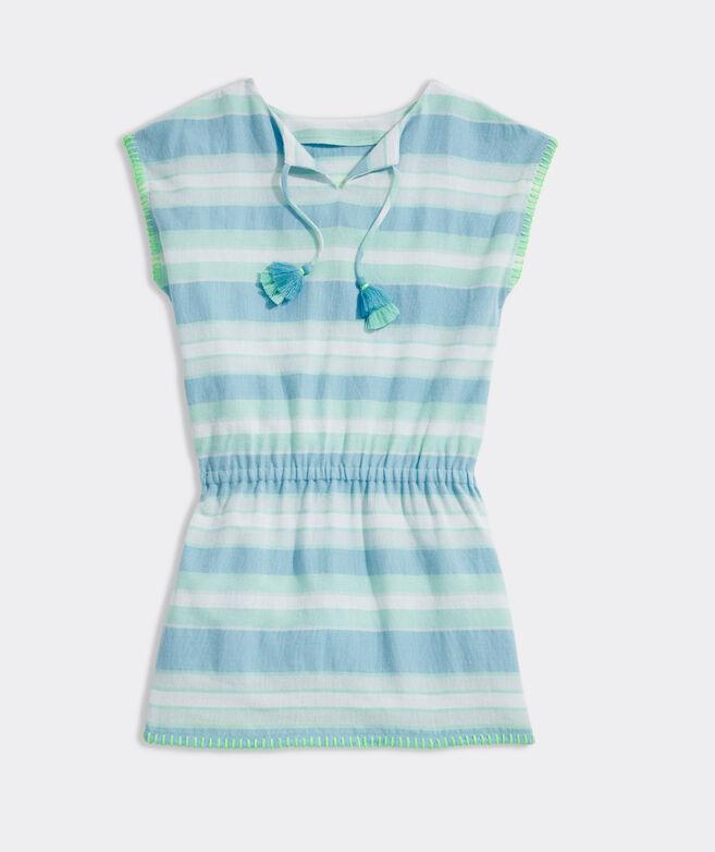 Girls' Stripe Cover-Up