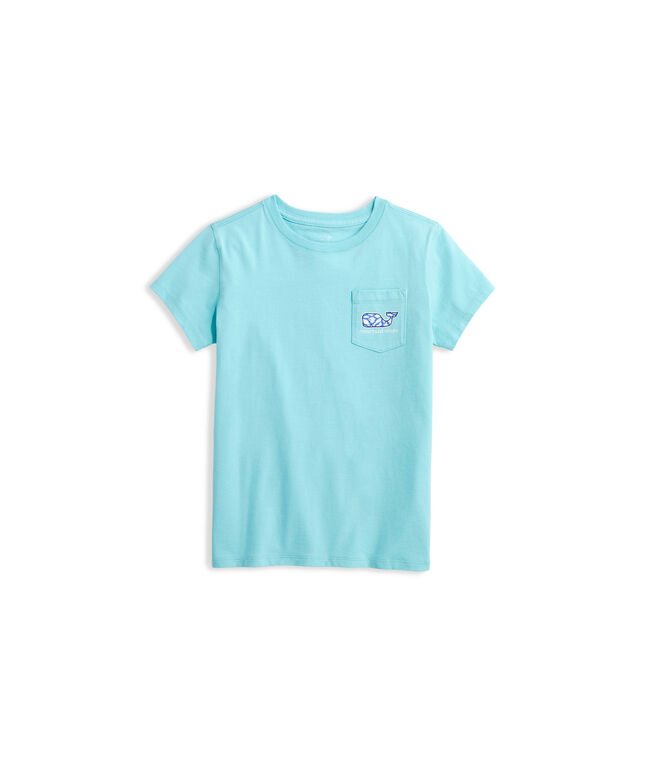 Girls' Day Lily Print Whale Fill Tee