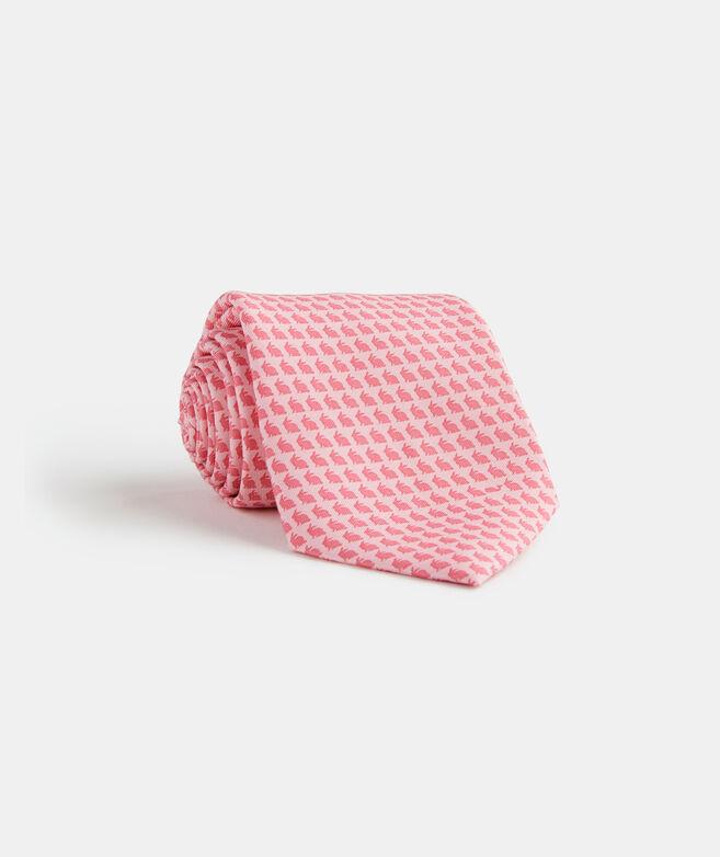 Tonal Easter Bunny Printed Tie