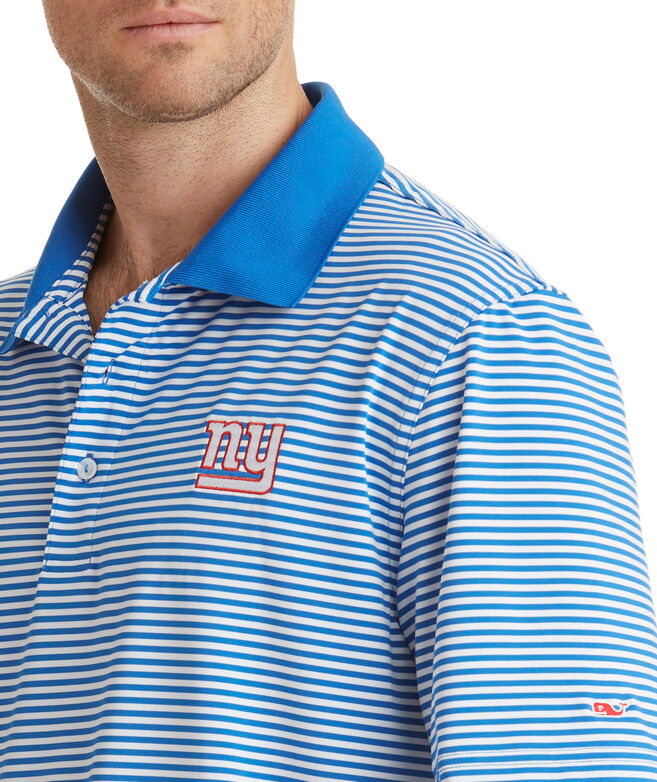 New York Giants Porter Stripe Polo