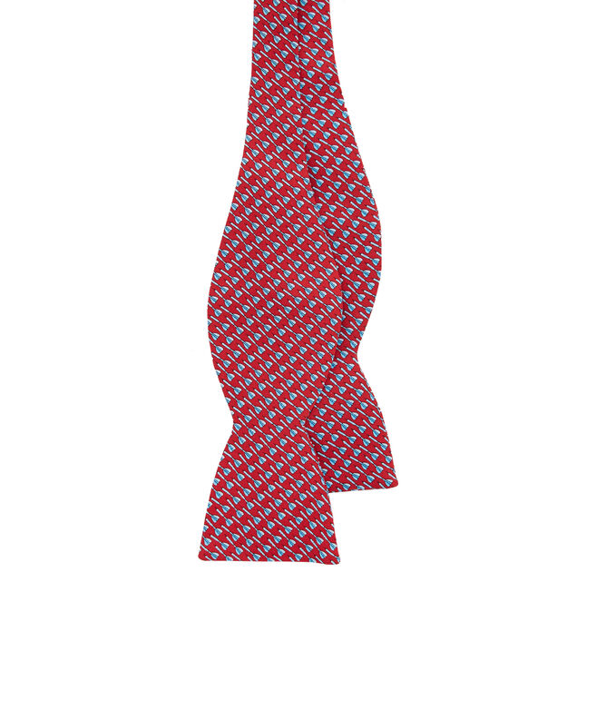 Bullseye Printed Bow Tie