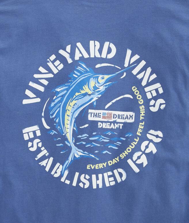 Painted Sailfish Pocket T-Shirt