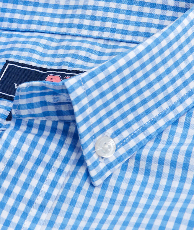 5574fd5d Shop Kids Classic Gingham Whale Shirt at vineyard vines