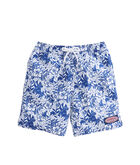 Boys Two Tone Ocean Floral Chappy Trunks