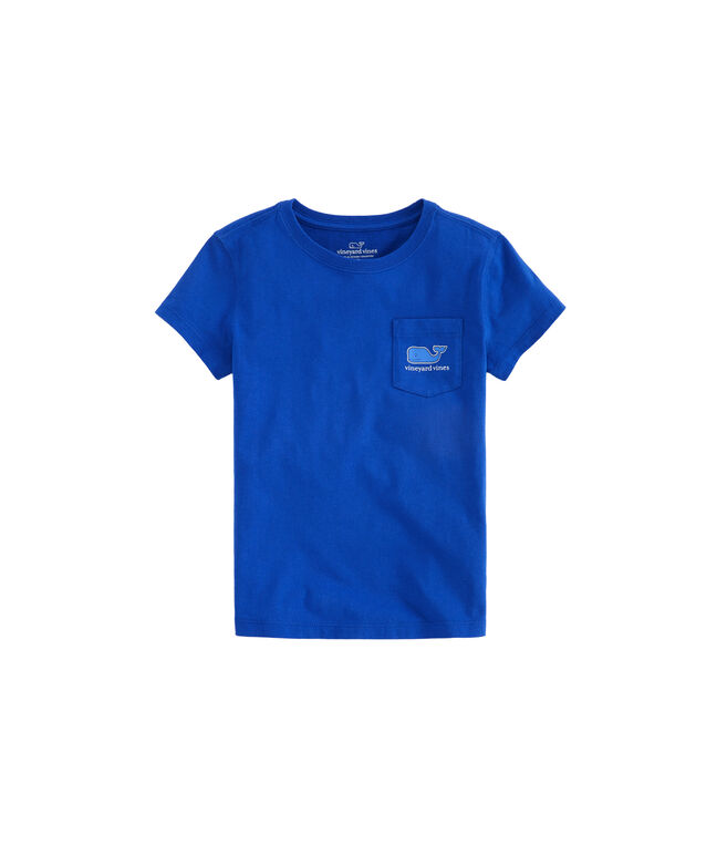 Girls Whale Stars Whale Fill Pocket Tee