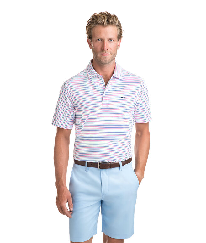 Hayes Stripe Sankaty Performance Polo