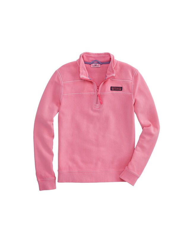 Girls Garment Pigment-Dyed Classic Shep Shirt