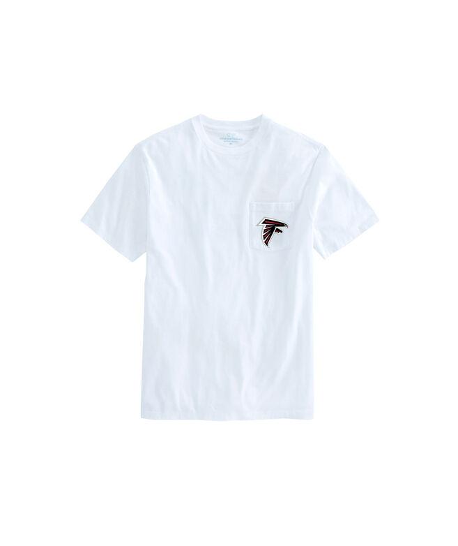Adult Falcons Short-Sleeve Block Stripe T-Shirt