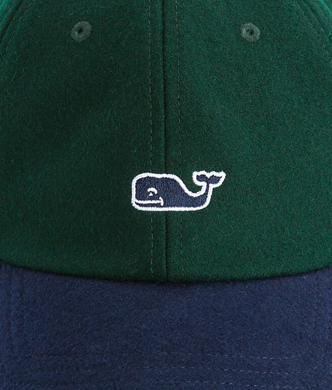 Wool Tartan Baseball Hat