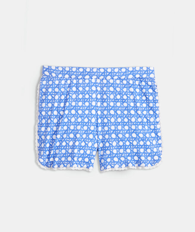 Girls' Dot Trim Shorts