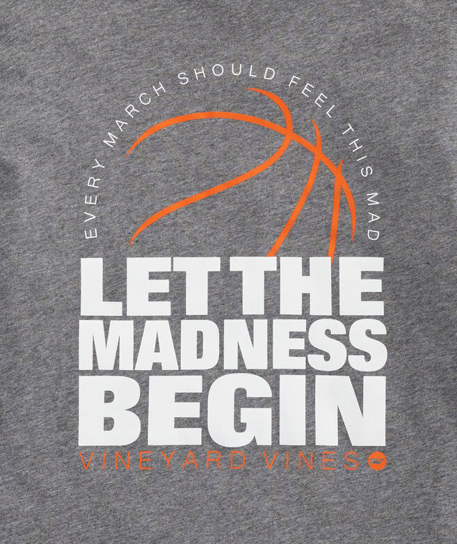 Big & Tall Let The Madness Begin Long-Sleeve Pocket Tee