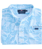 Short-Sleeve Tuna Batic Harbor Shirt