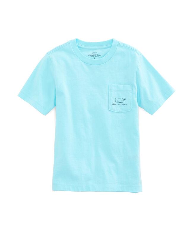 Boys Vintage Whale Pocket T-Shirt