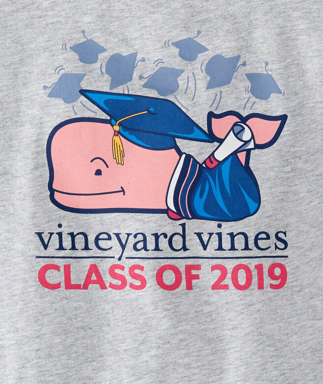 Boys Long-Sleeve Graduation Whale 2019 Pocket T-Shirt