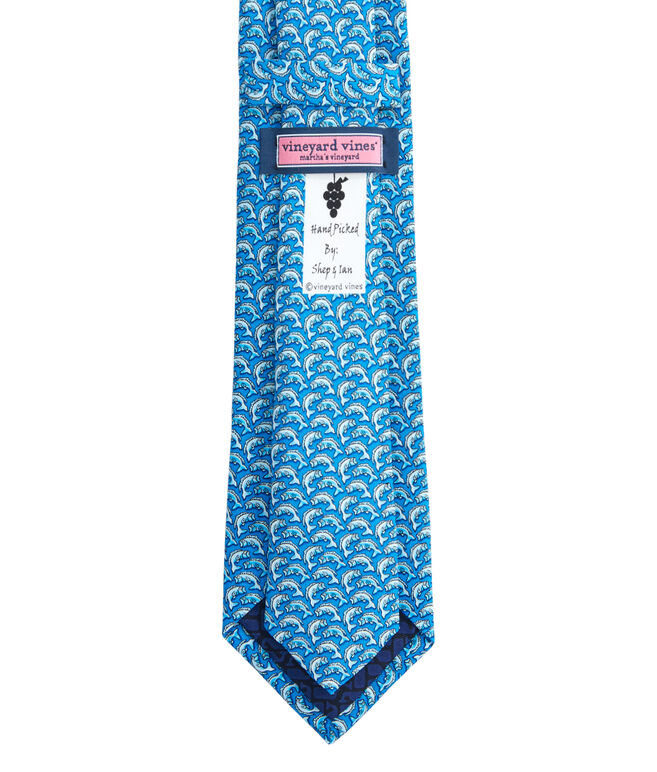 Boys Bass Printed Tie