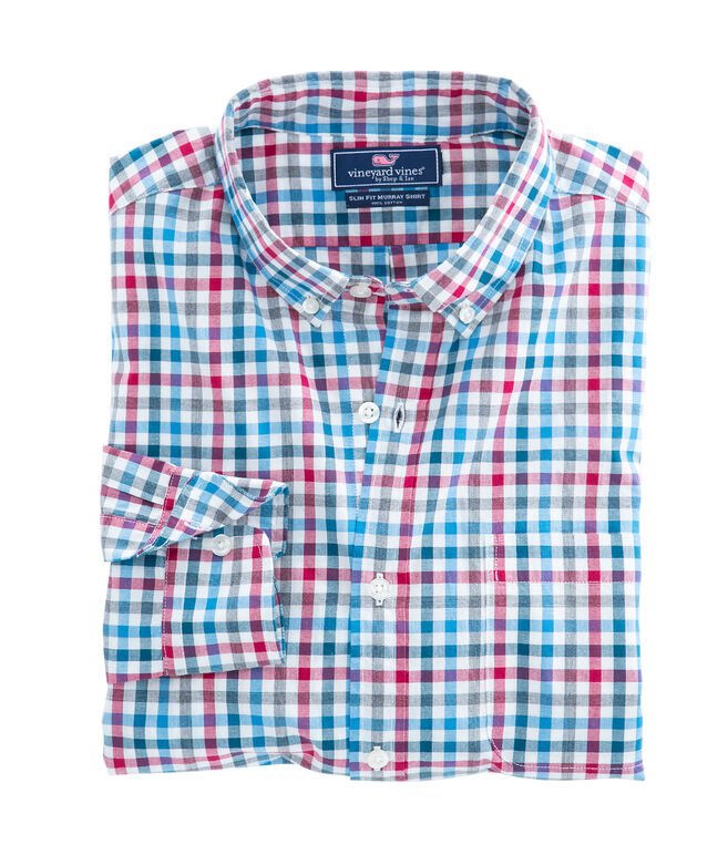 Lodge Gingham Slim Murray Shirt