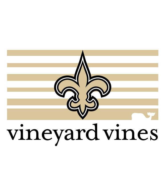 New Orleans Saints Block Stripe T-Shirt