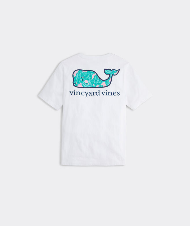 Boys' Banana Leaf Whale Short-Sleeve Pocket Tee