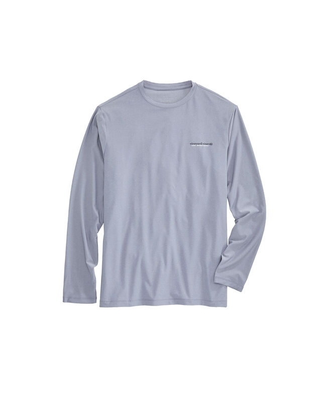 Rooster Fish Performance Long-Sleeve T-Shirt