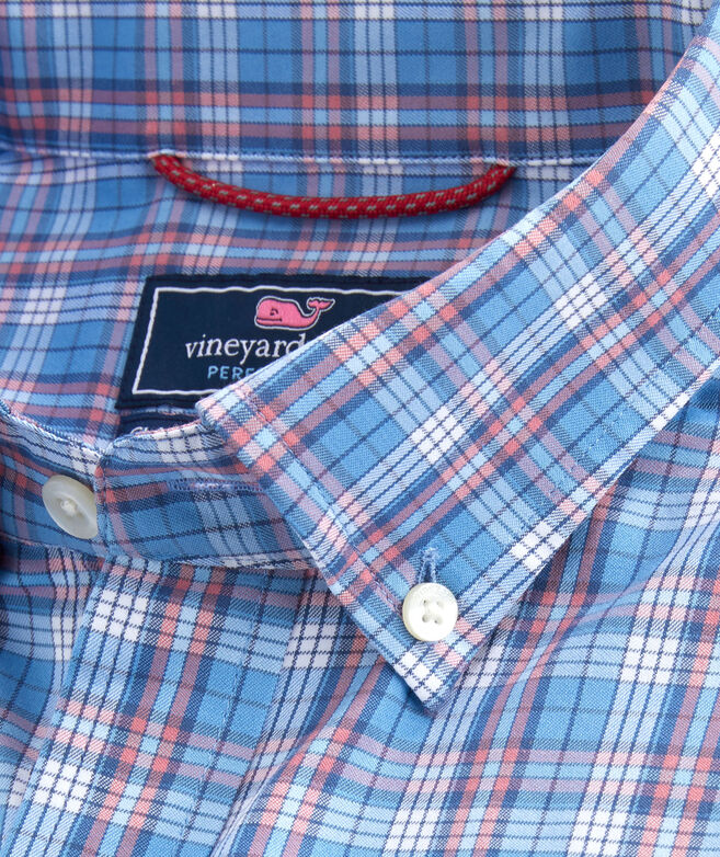 Classic Fit Redfish Cotton Performance Murray Shirt