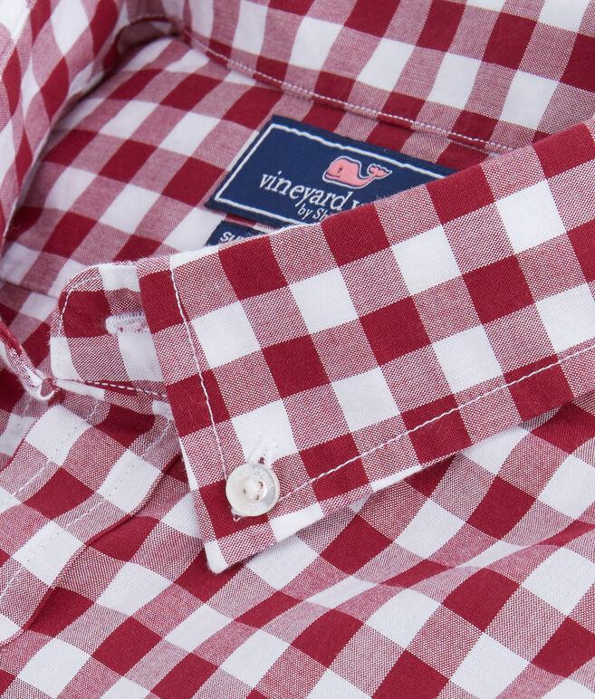 Riverhead Gingham Slim Tucker Shirt