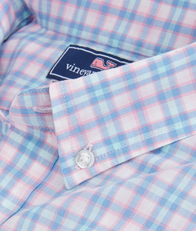 Hamlets Port Plaid Slim Tucker Shirt