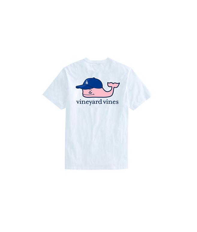 Kids Los Angeles Dodgers Baseball Cap Pocket T-Shirt