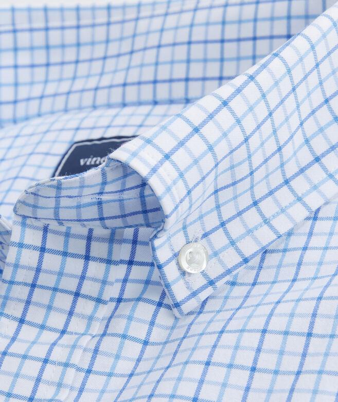 Performance Pepperbush Plaid Classic Tucker Shirt