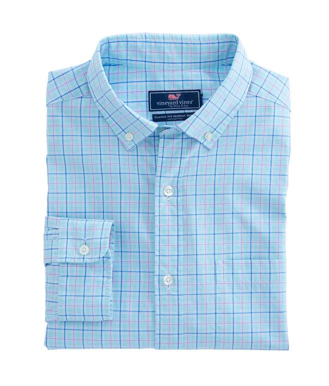 Fort Pond Plaid Classic Murray Shirt