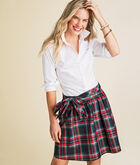 Jolly Plaid Taffeta Party Skirt
