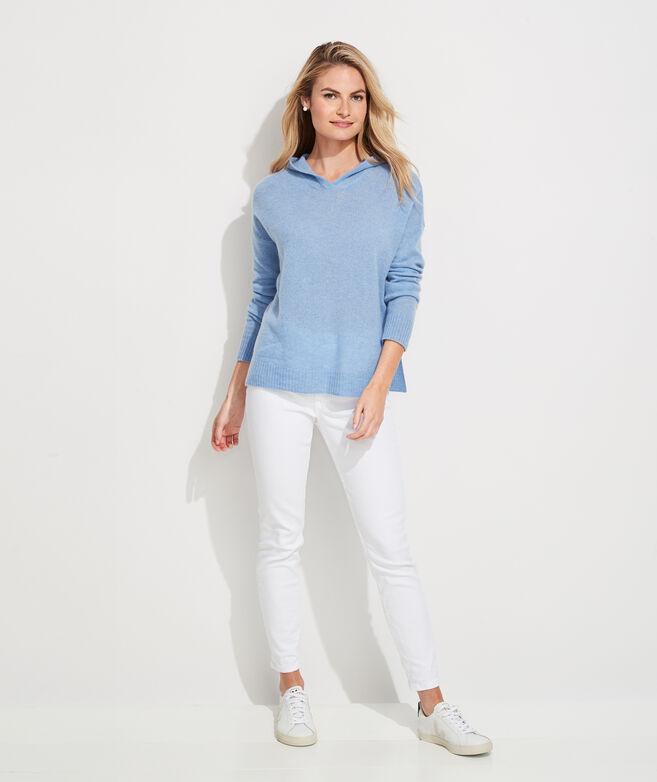 Lofty Cashmere Sweater Hoodie