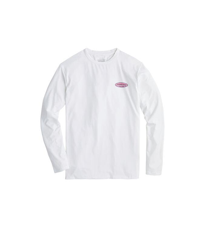 Long-Sleeve Performance Surf Logo T-Shirt