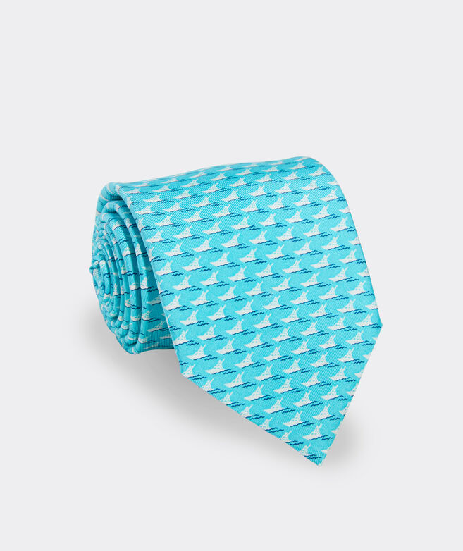 Sportfishing Cruise Printed Tie