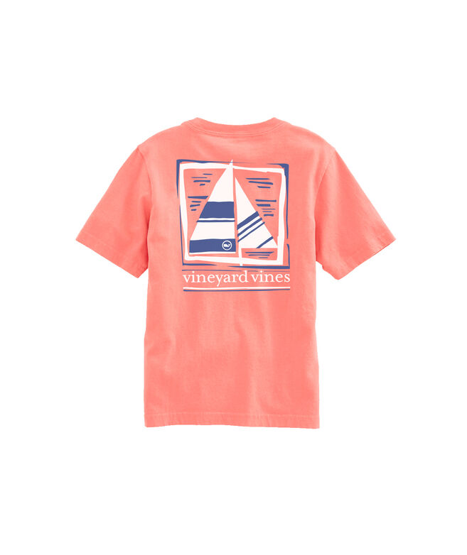 OUTLET Kids' Simple Sail Short-Sleeve Pocket Tee