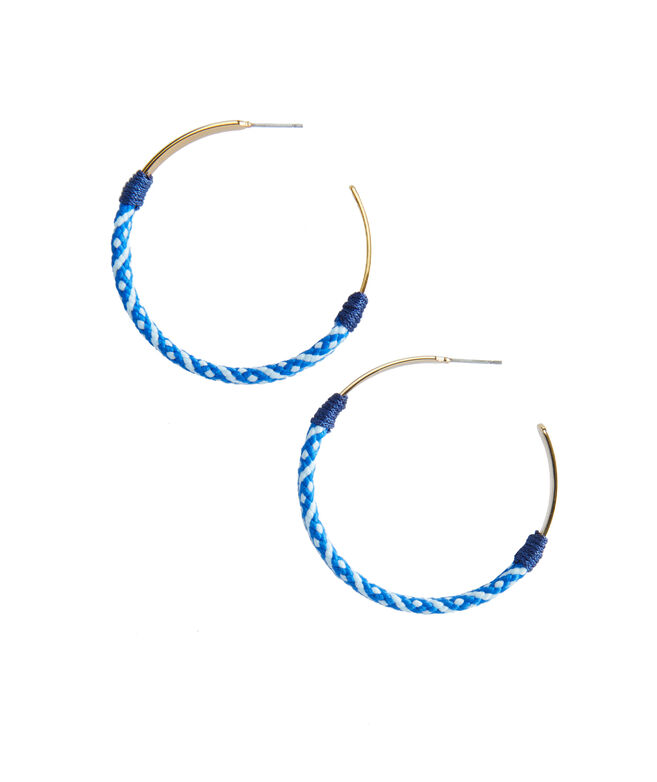 Halyard Hoop Earrings