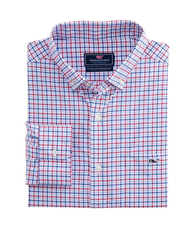 Classic Fit Delray On-The-Go Performance Tucker Shirt