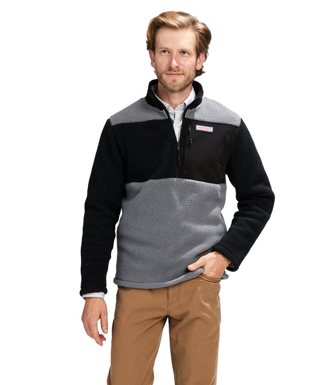 Block Stillwater Sherpa 1/2 Zip