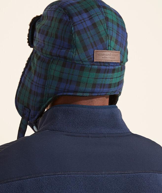 Woven Wool Blackwatch Trapper Hat