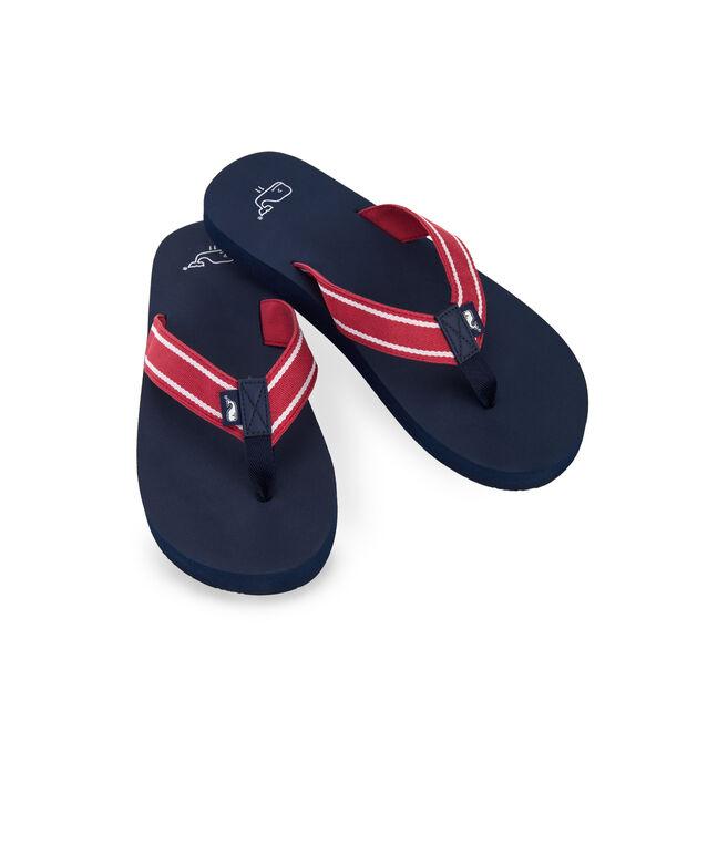 Sailor Stripe Flip Flops