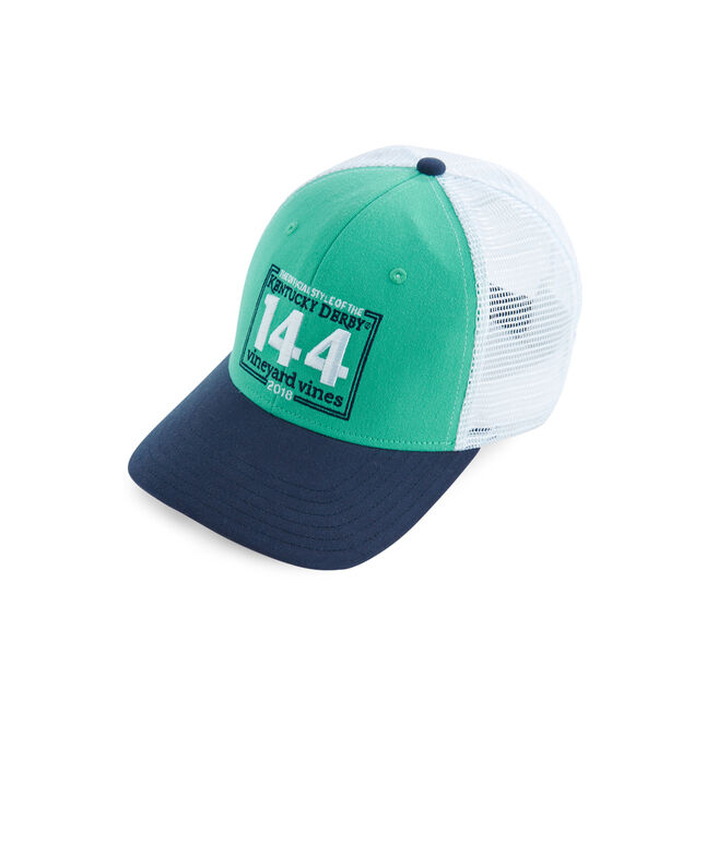 Kentucky Derby 144 Stamp Trucker Hat