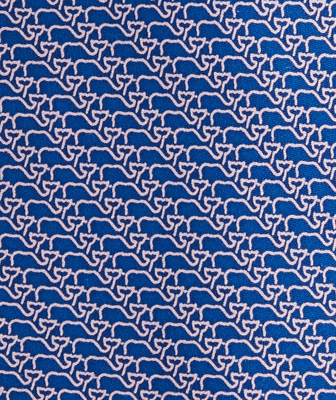 Whale Scales Printed Tie
