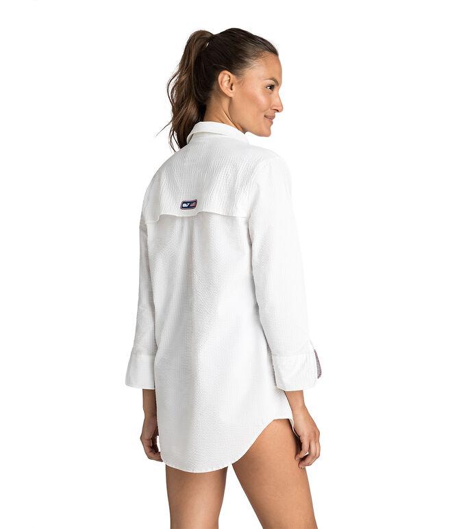 USA Harbor Shirt Cover-Up