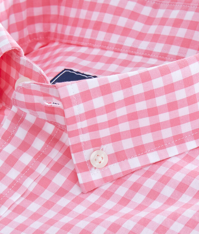 Carleton Gingham Classic Stretch Murray Shirt