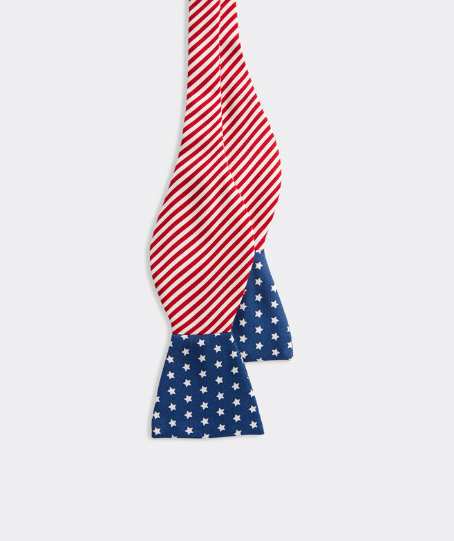 Stars & Stripes Double-Sided Printed Bow Tie