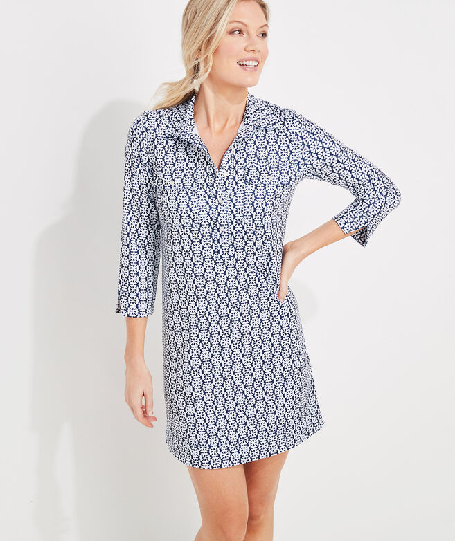 Nantucket Tile Sankaty Margo Shirt Dress