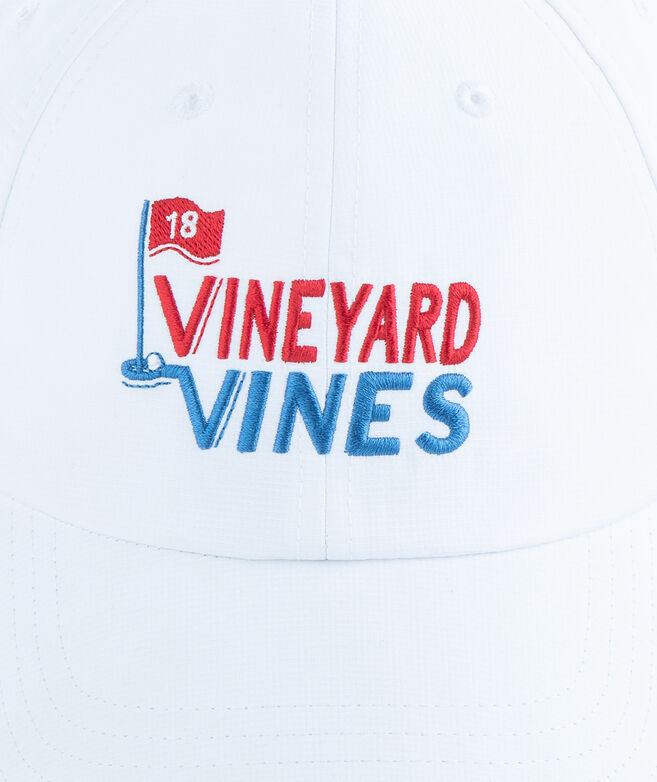 vineyard vines Golf Embroidered Performance Baseball Hat