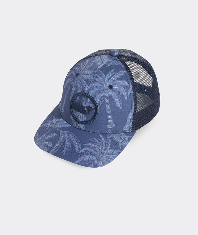 Island Icons Whale Dot Performance Trucker Hat