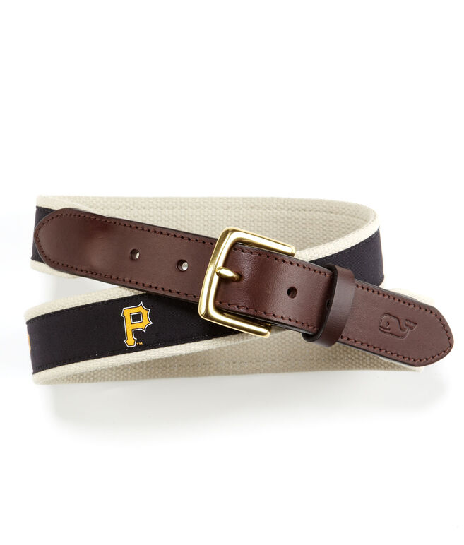 Pittsburgh Pirates Canvas Club Belt